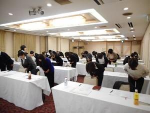 2018年度ビジネスマナー研修が開催されました(10/23ピアリティまきび、10/24倉敷ステーションホテル)