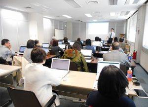 2019年2月期ICT講習会<パソコン教室>が開催されました。(2/7-8NTT岡山支店ビル)