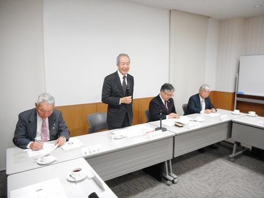 岡山地区協会及び倉敷地区協会の2018年度理事会が開催されました