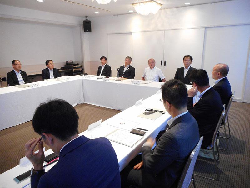 2019年度岡山支部理事会が開催されました。
