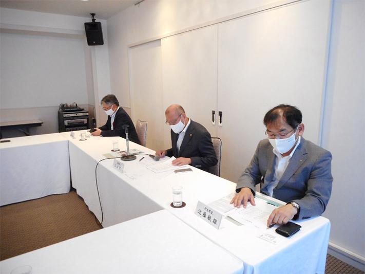 2020年度岡山支部理事会が開催されました。